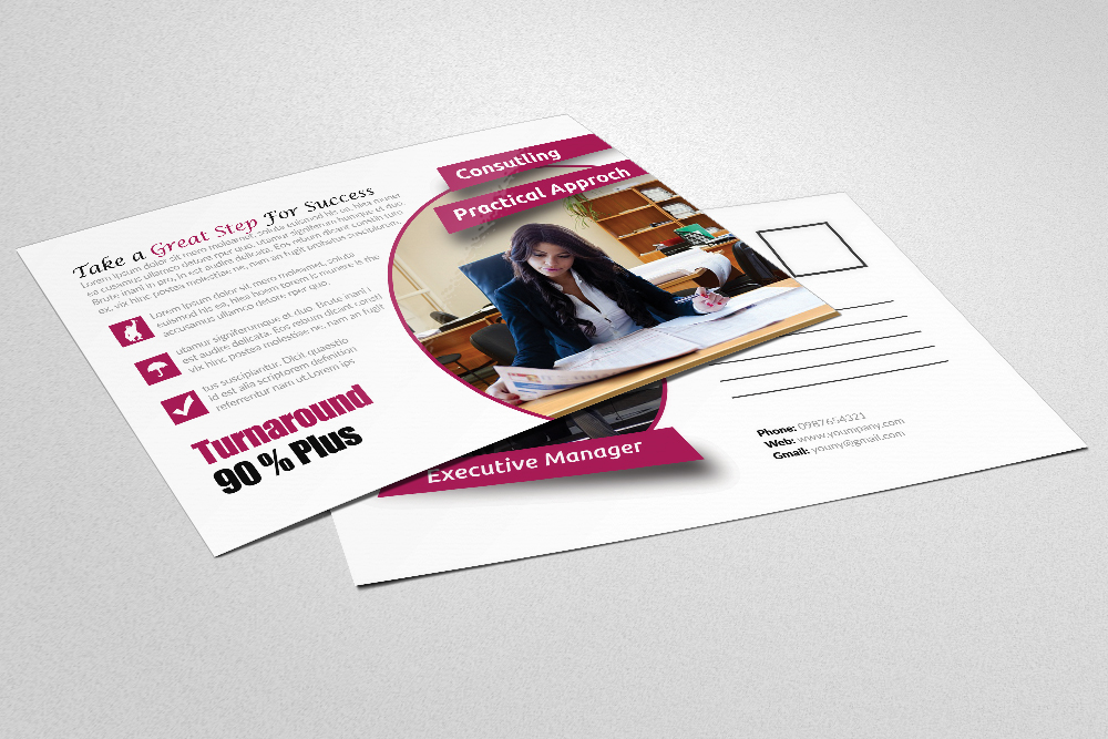 Business Postcards Template example image 2