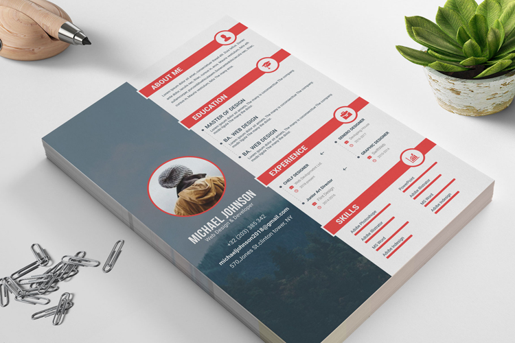 Resume Templates example image 5