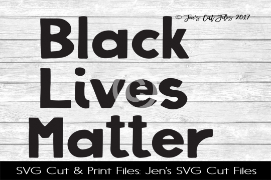 Black Lives Matter SVG Cut File example image 1