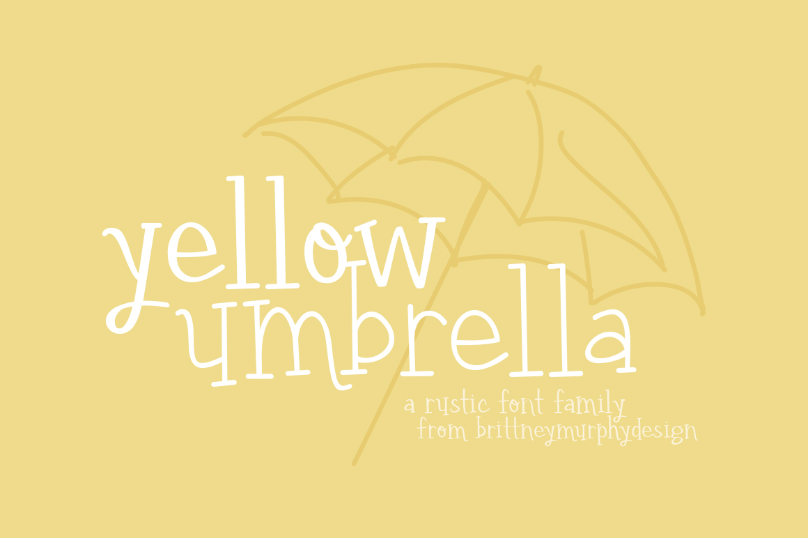 Yellow Umbrella example image 1