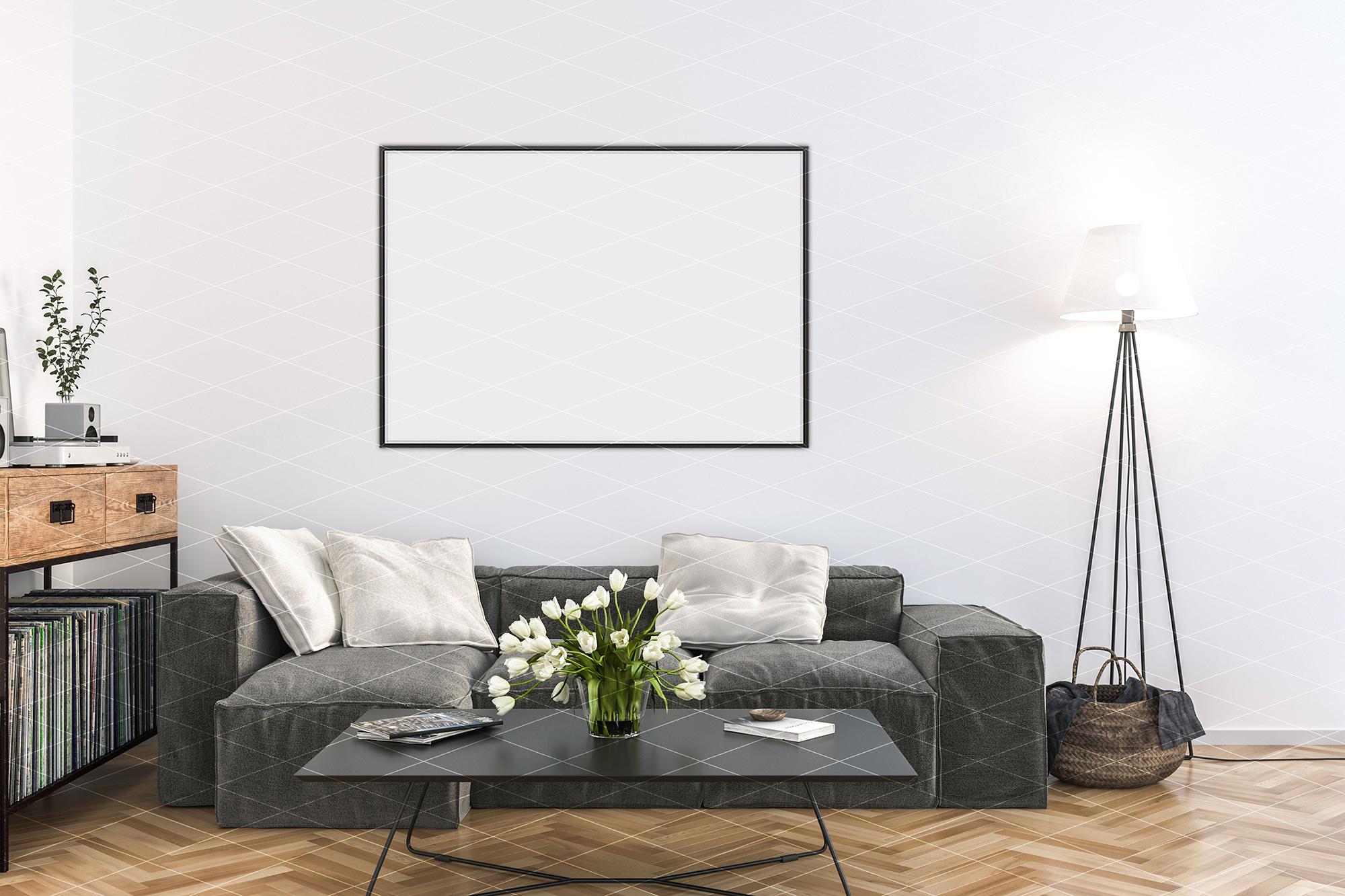 Interior mockup - artwork background - kitchen example image 3