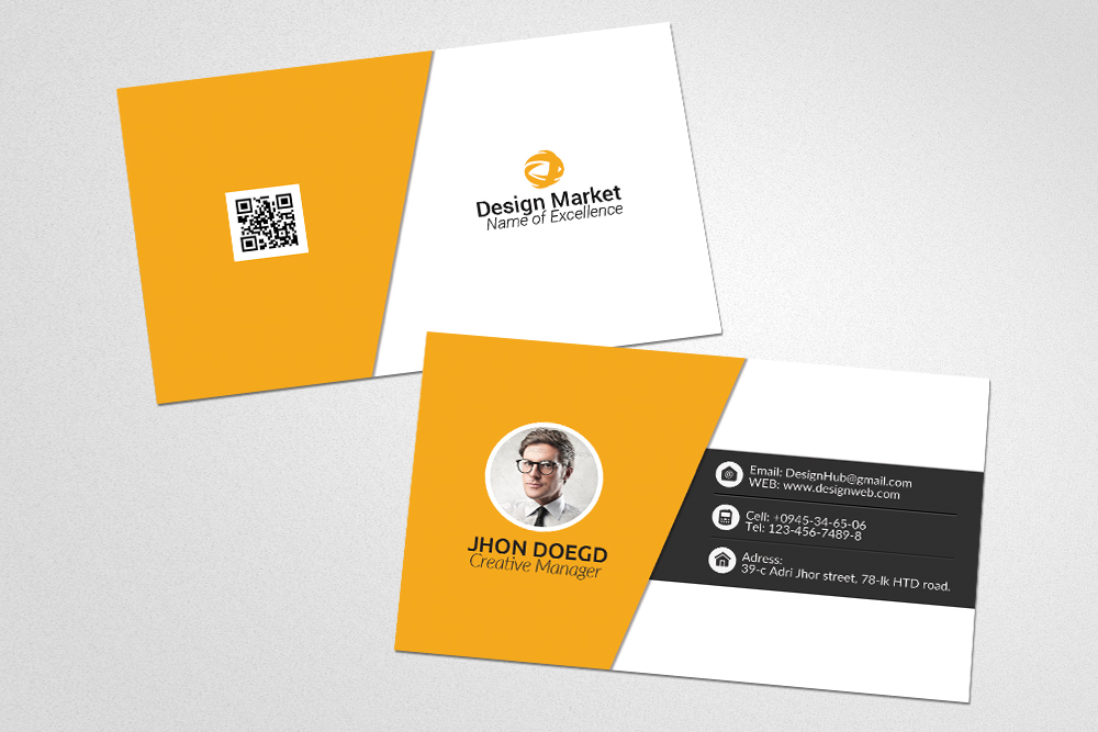 Business Cards Psd Templates example image 2