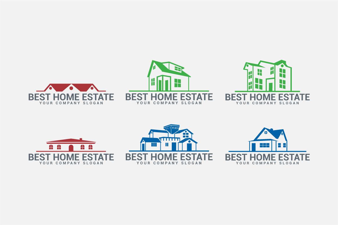 Real Estate Logo & Badges example image 6