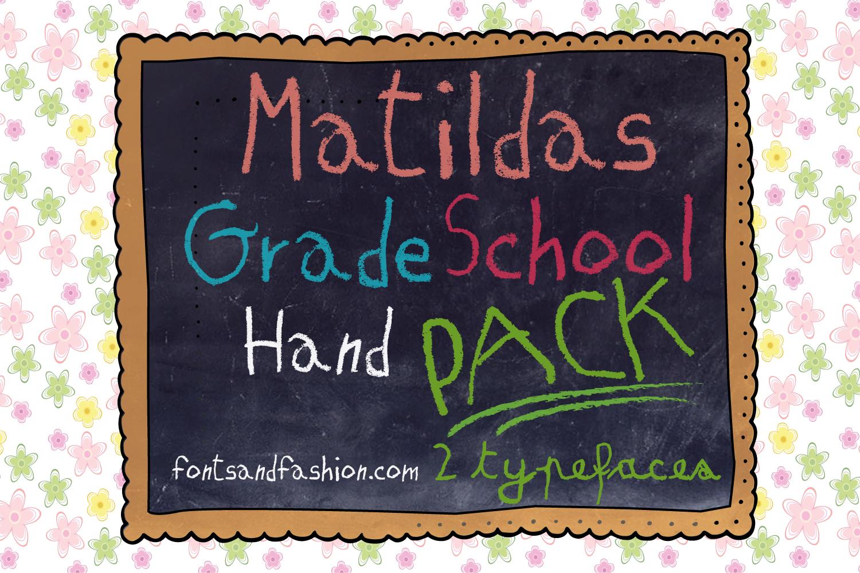 Matildas Grade School Hand_Pack example image 2