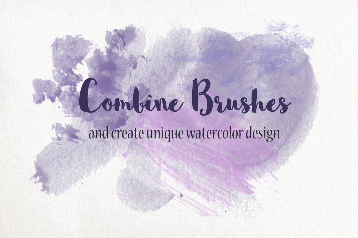 PS Watercolor Brush Kit 250 brushes example image 4
