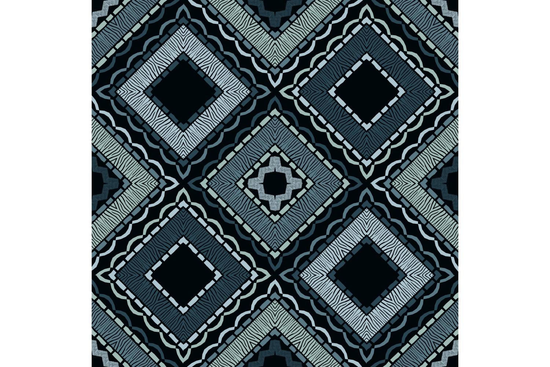 Zebra stripes. Ethnic boho ornament. 10 seamless patterns. example image 3