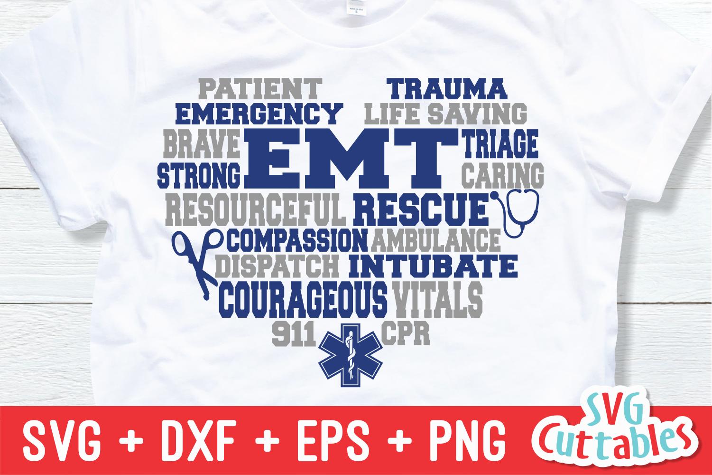 Paramedic / EMT Bundle 1 | SVG Cut File example image 9