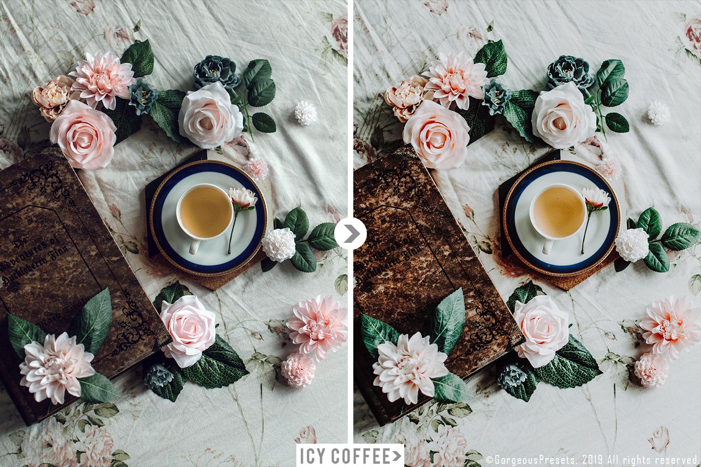 Mobile Lightroom Preset ICY COFFEE example image 7