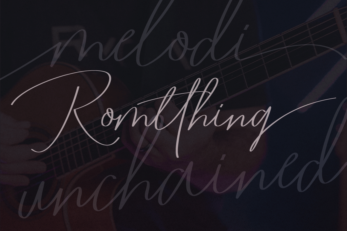Romtthing Girl - Signature Stylish example image 4