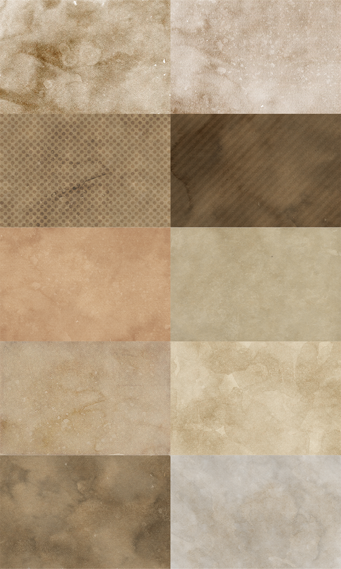 10 Coffee Paper Textures example image 5