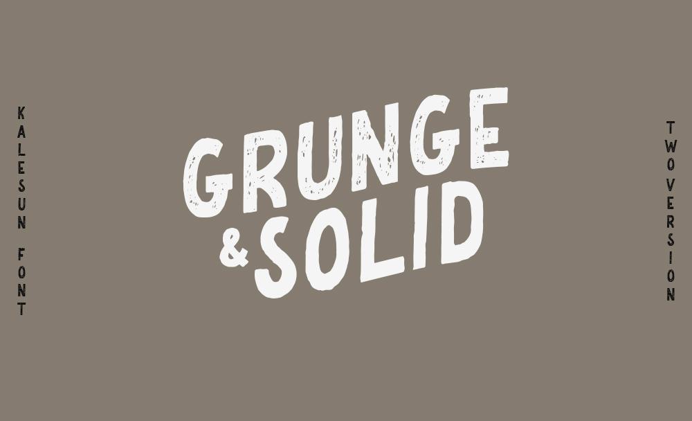 Kalesun Vintage Font example image 2