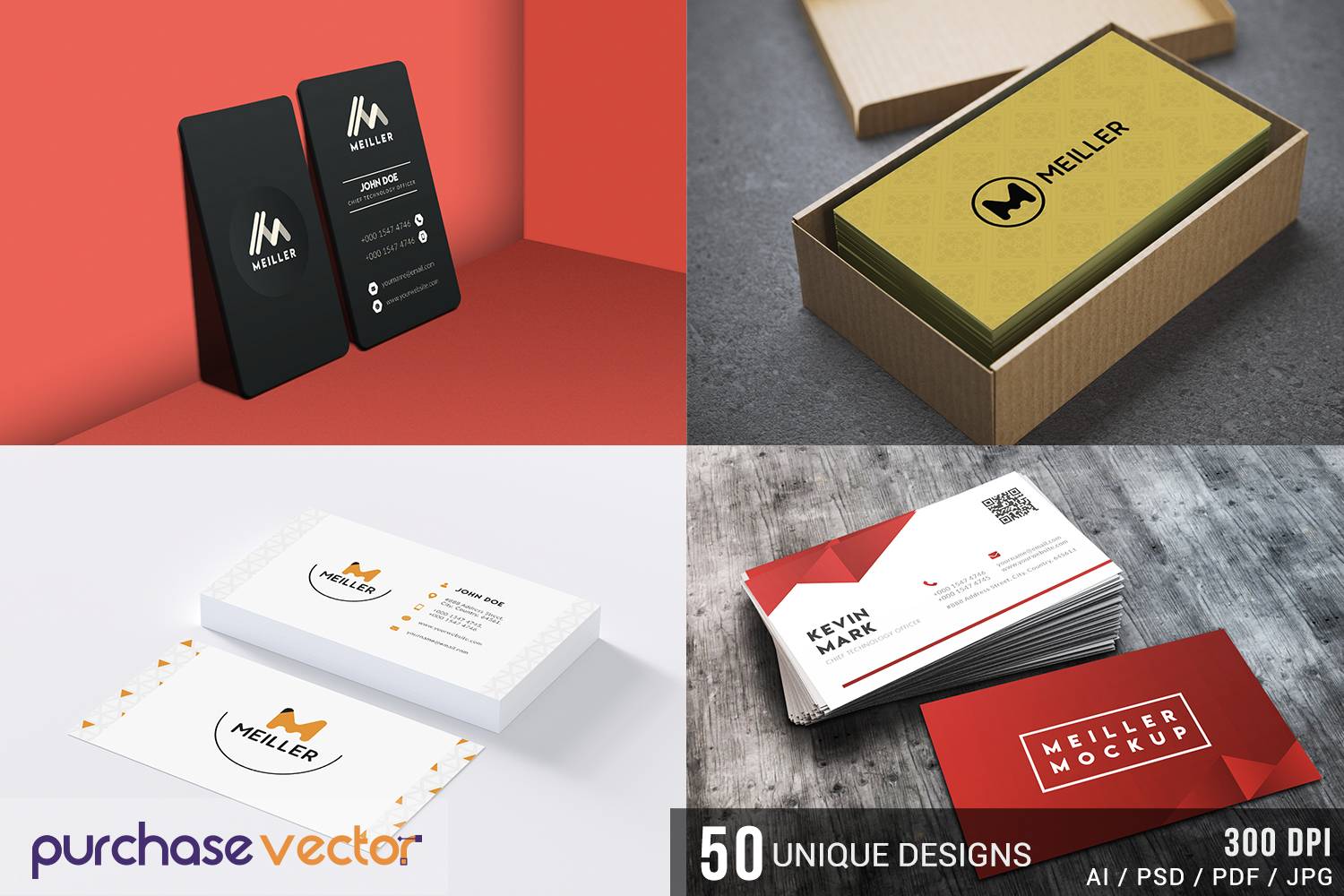 Professional Business Cards Templates example image 1