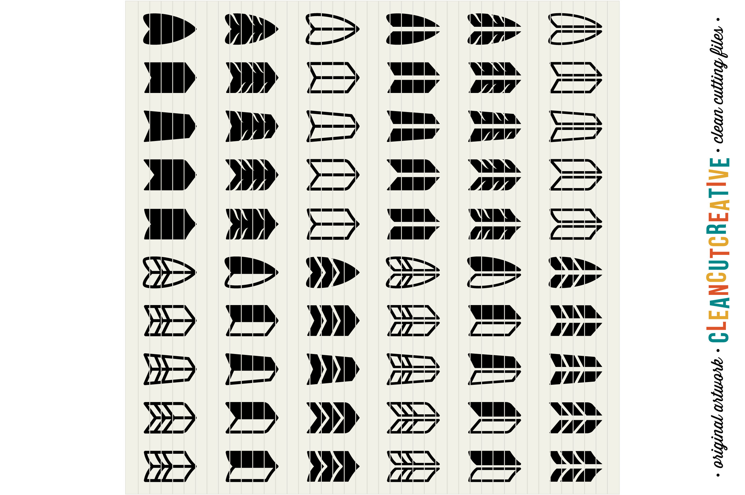 The Ultimate ARROW TOOLKIT - DIY Arrows SVG DXF EPS PNG file example image 6