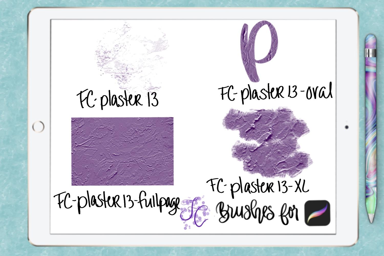 FC-plaster-set2 for PROCREATE example image 4