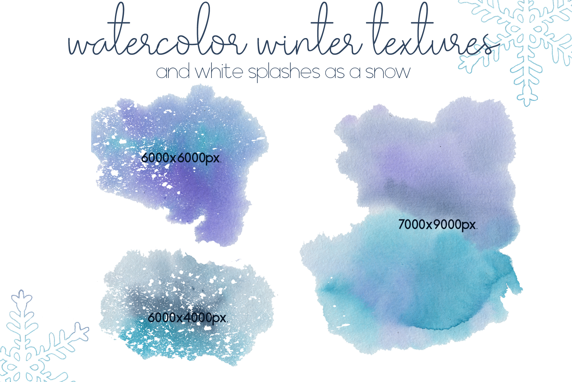 Let it snow. Winter collection example image 15