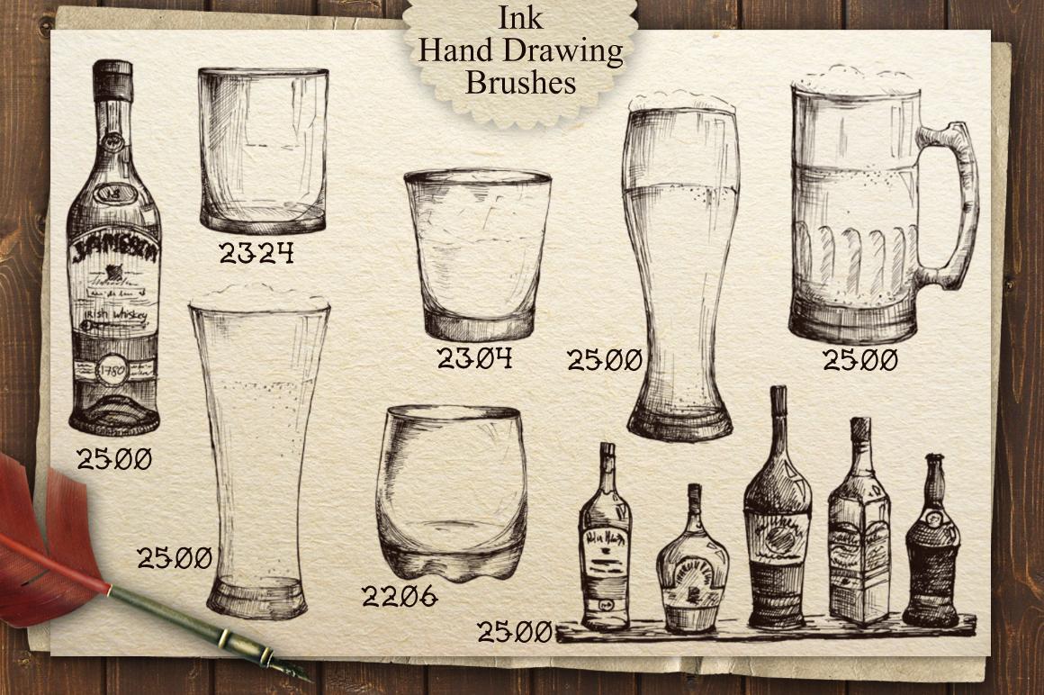 Irish Pub Ink Vintage PS Brushes example image 2