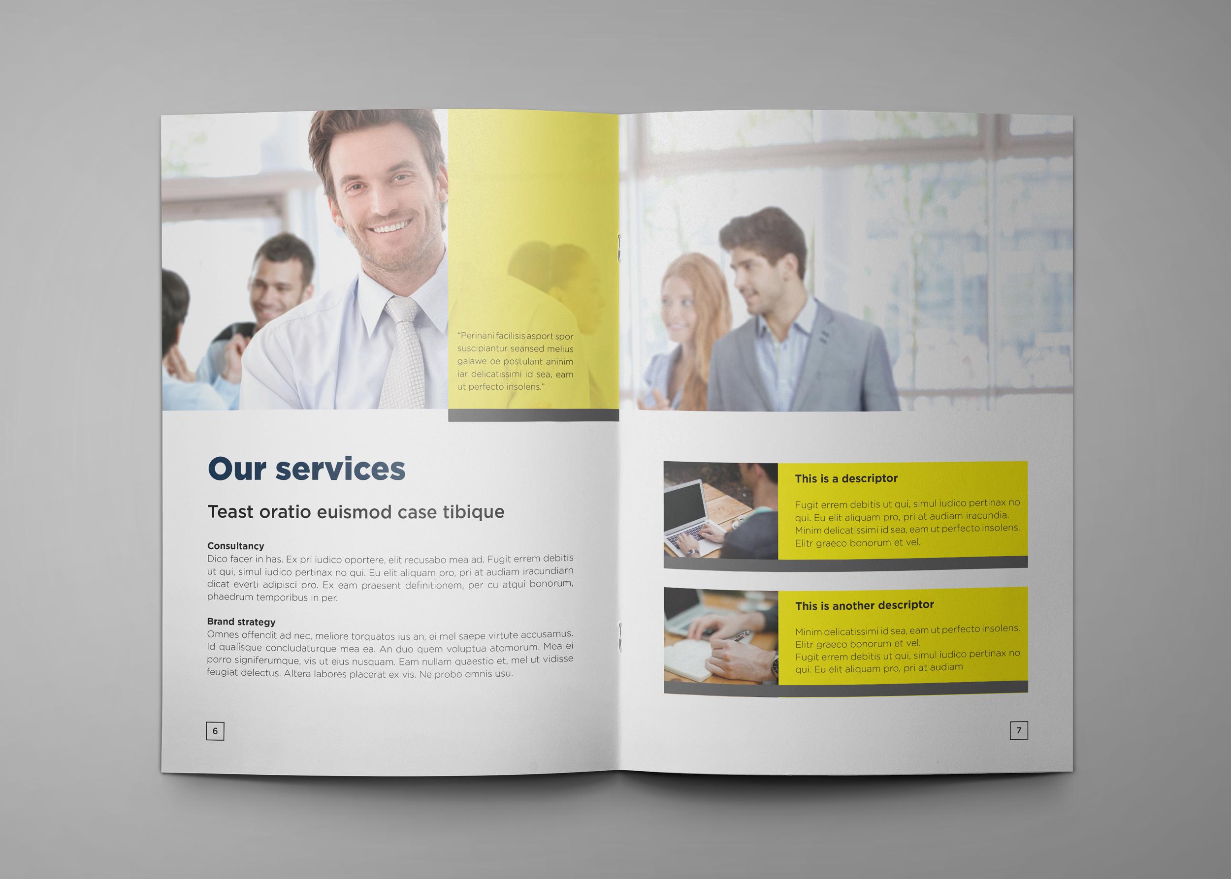 Corporate Company Profile example image 5