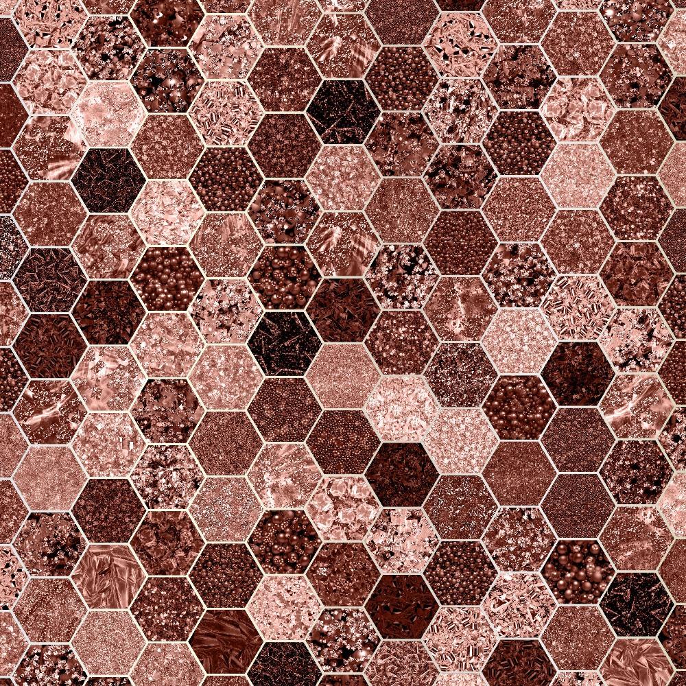 Glitter Honeycomb Digital Paper example image 5