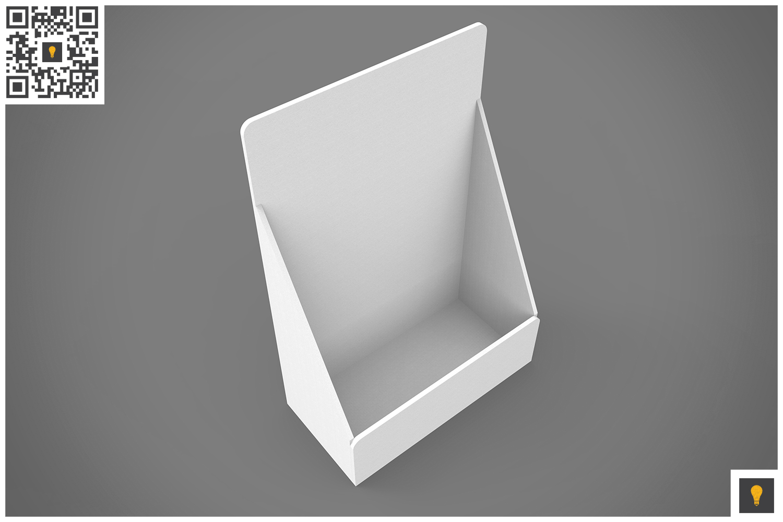 Table Top Display 3D Render example image 3