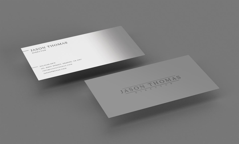 Bright Colour Beautiful Elegant Business Card 2 example image 4