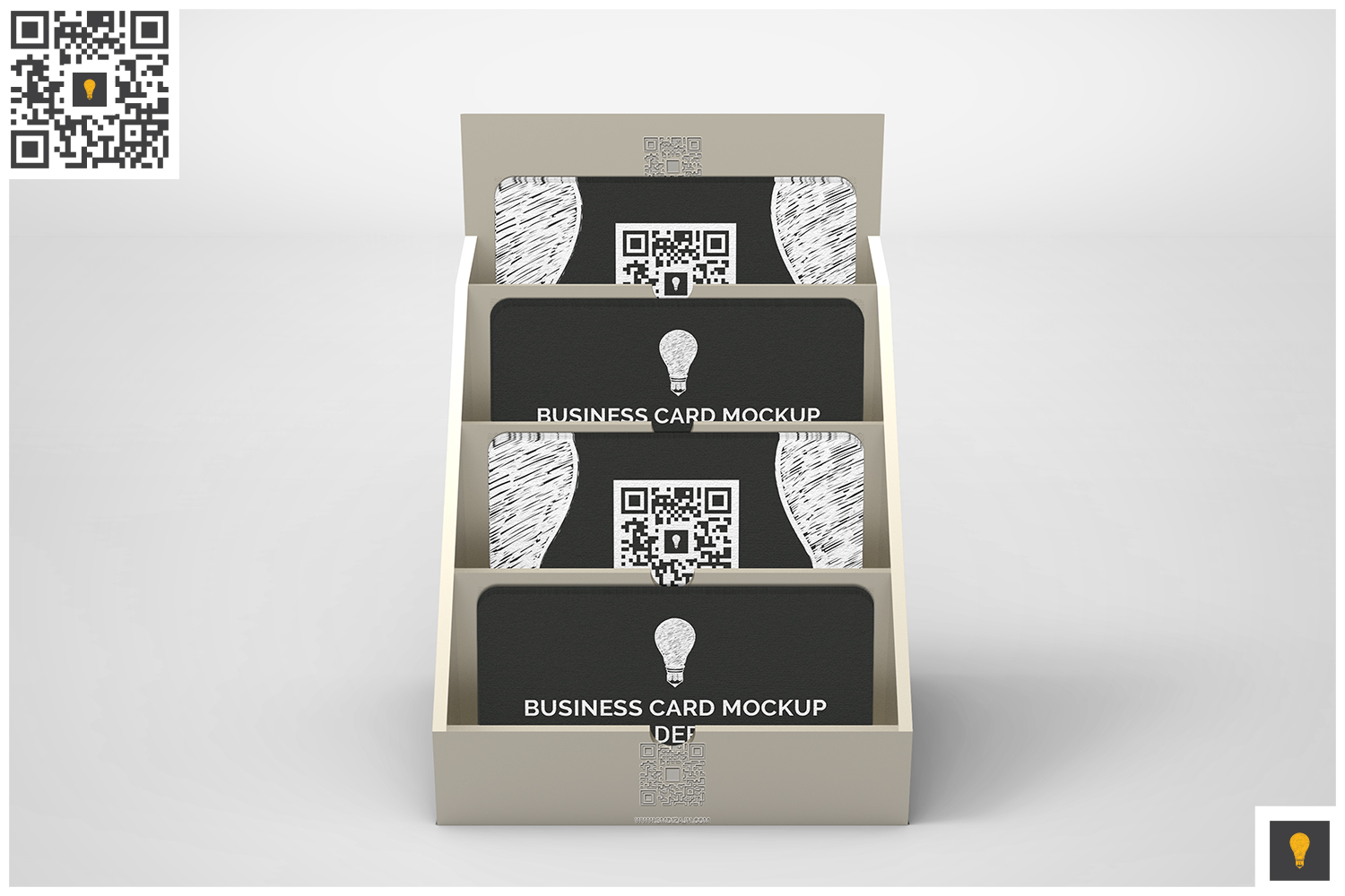 Business Card Holder Mockup example image 2