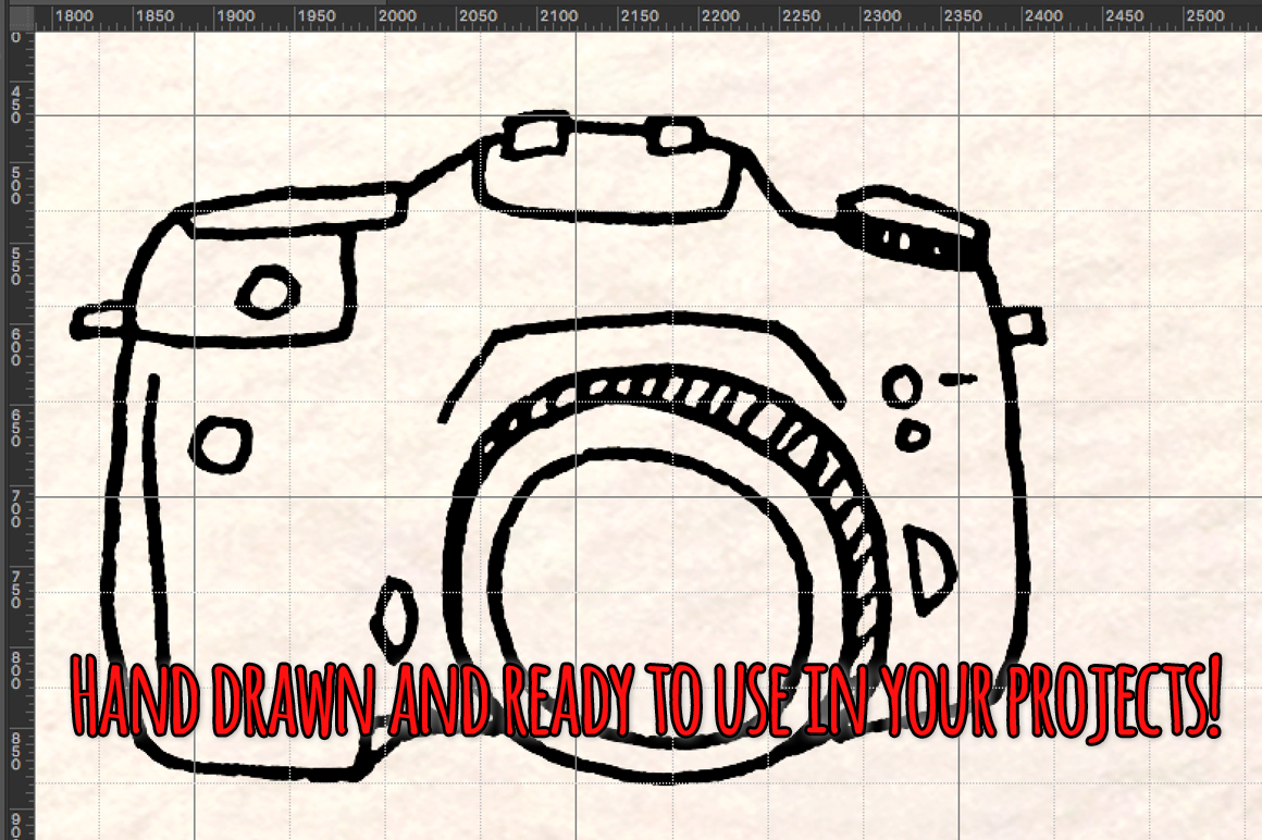 50 Camera, Photography and Film Vector Graphics example image 3