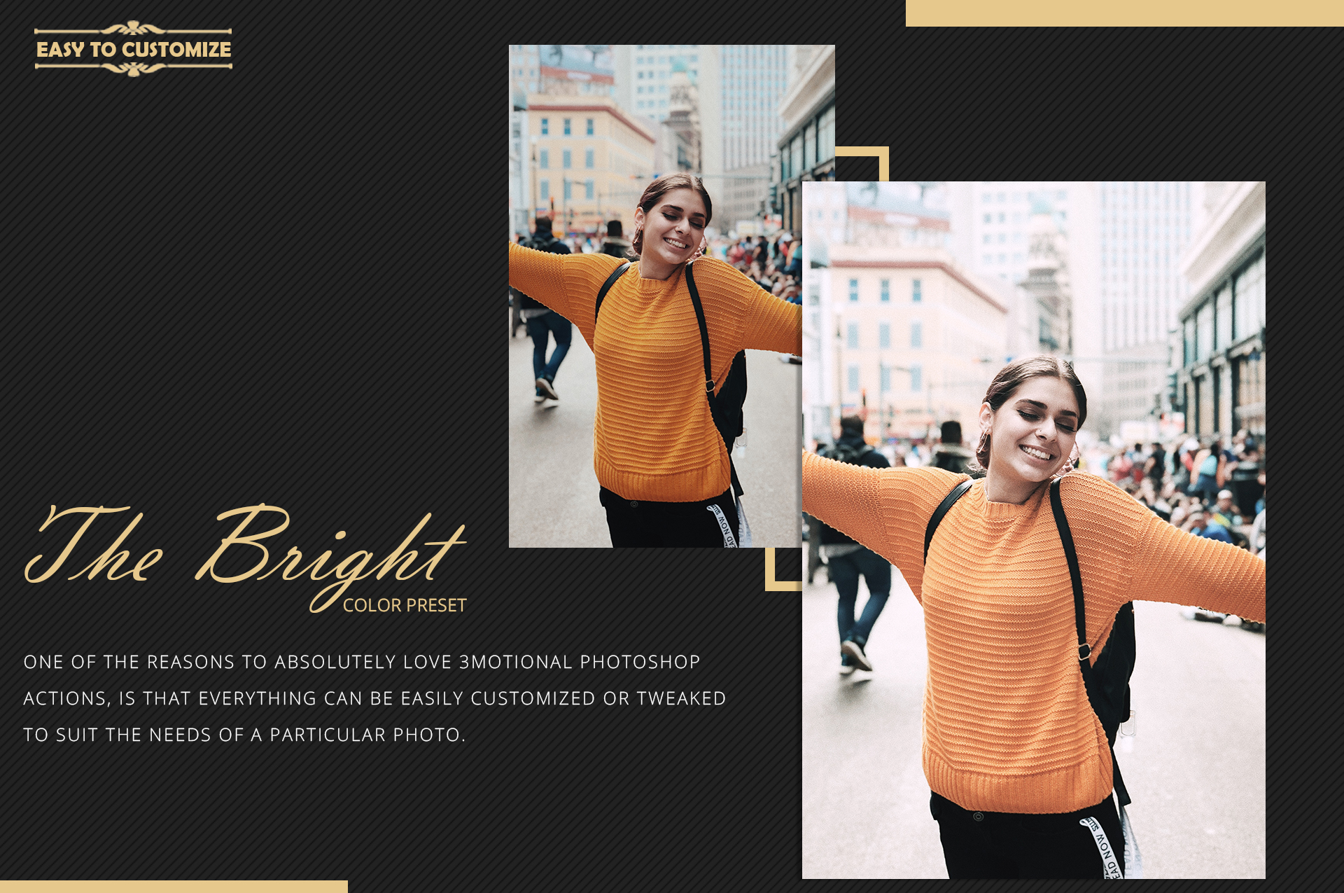Neo Bright Color Grading photoshop actions