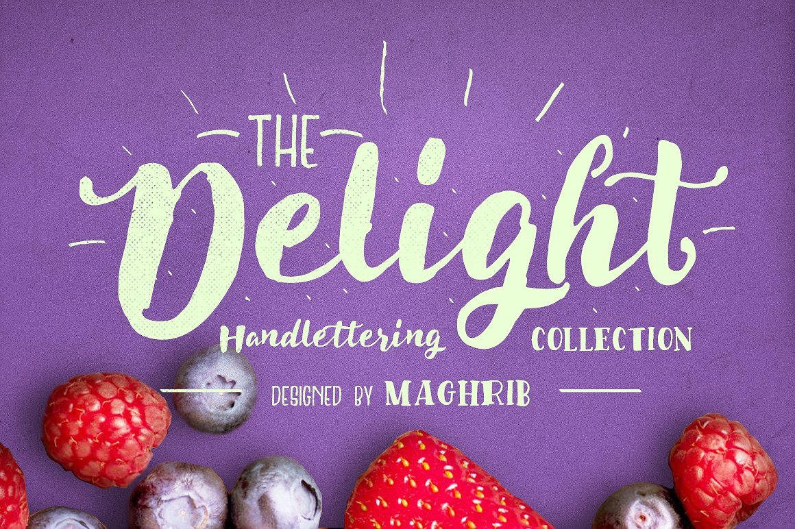 Delight Font Pack & Extra example image 2