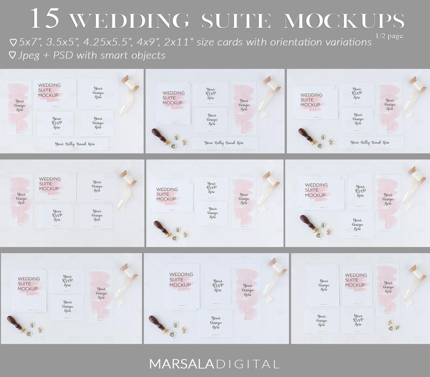 Ultimate Wedding Mockup Bundle example image 16