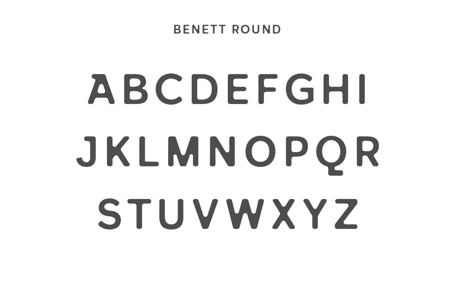 Benett Sans Serif Font Family example image 3