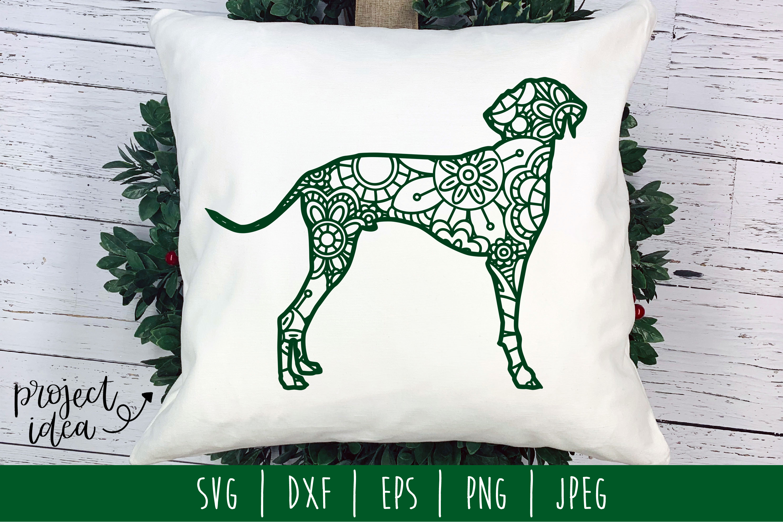 Dog Mandala Zentangle Bundle Set of 22 - SVG example image 19