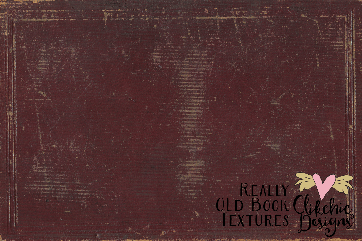 Grunge Book Textures - Really Old Book Textures example image 4