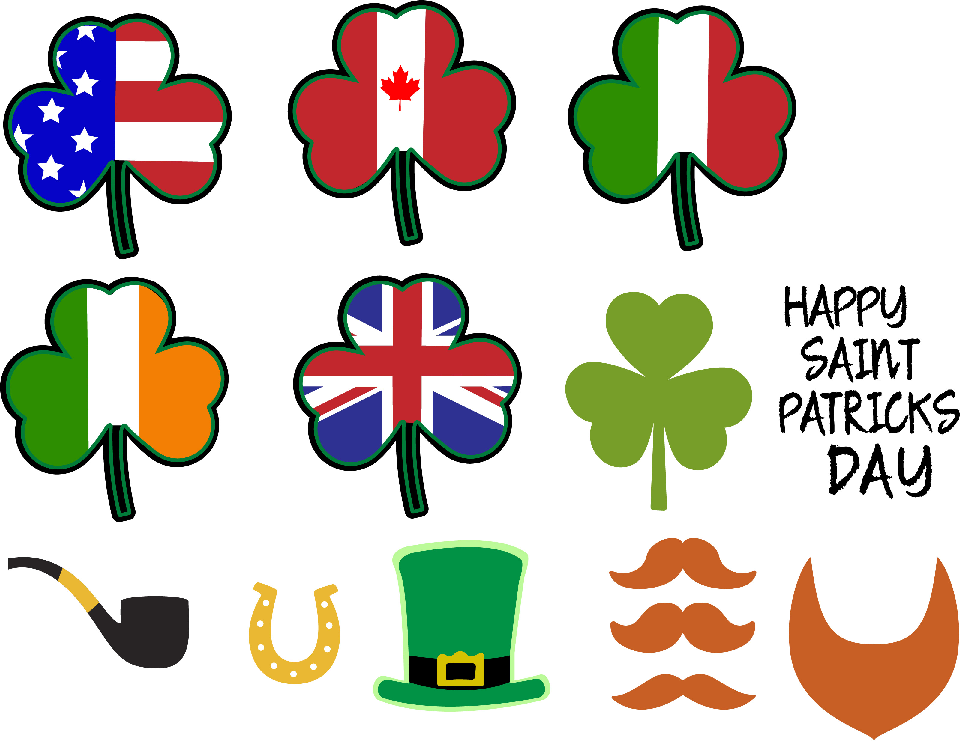 Saint Patrick's Day, patrick, Saint Patrick's, happy, svg, example image 2