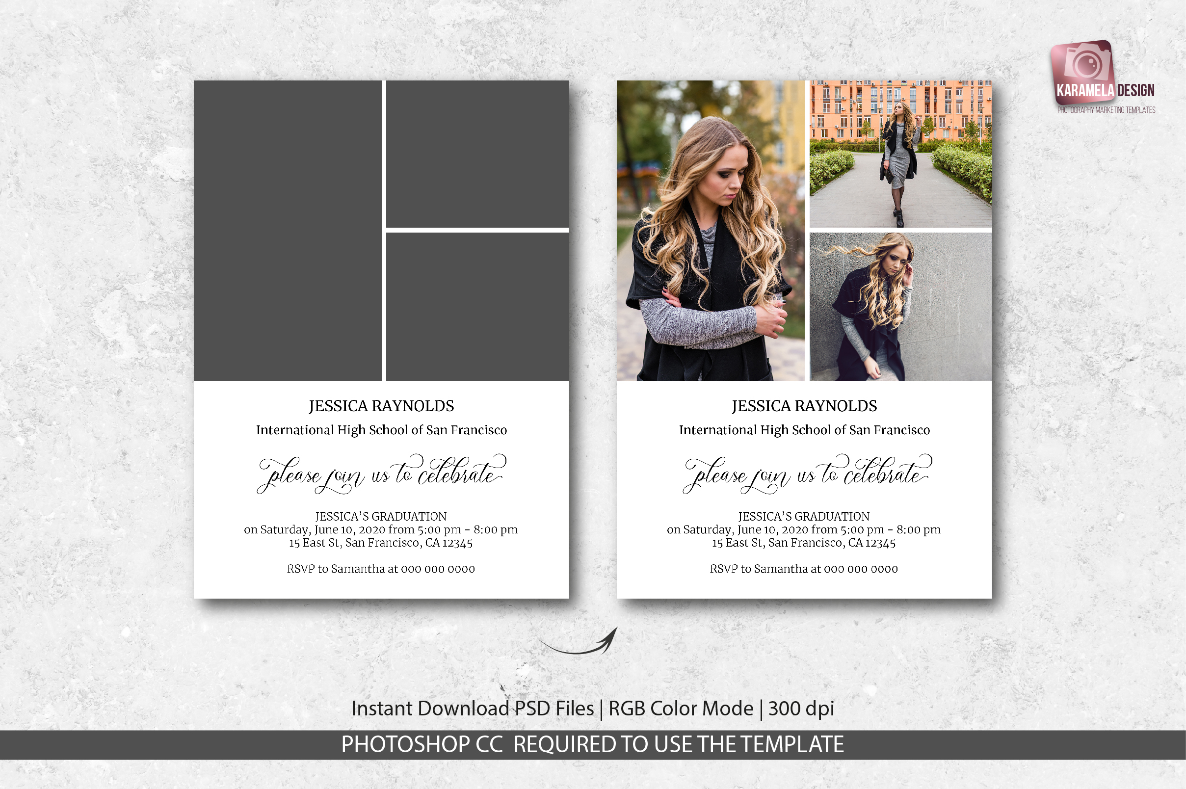 Graduation Announcement Template example image 3