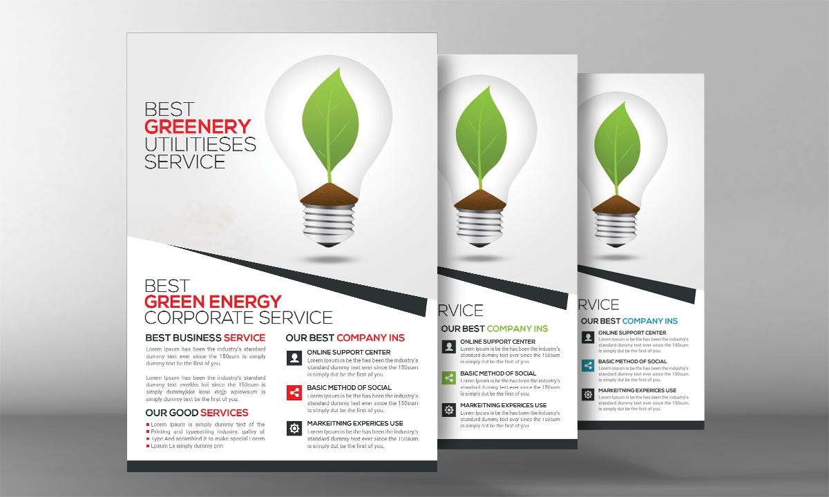 garden  u0026 landscape design flyer
