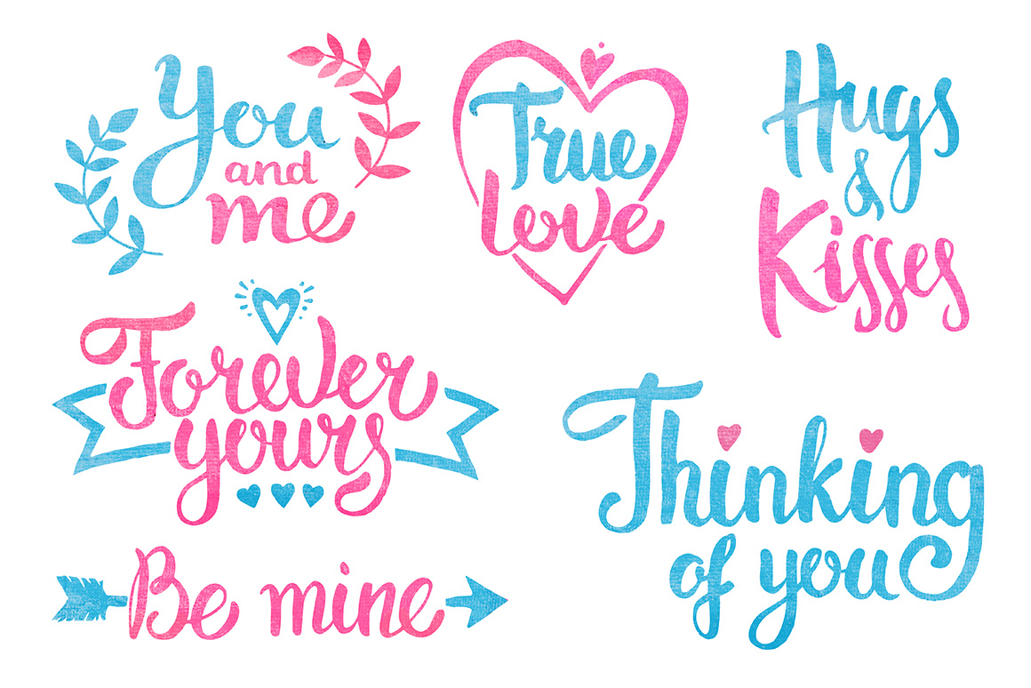 Hugs & Kisses in the Valentines day! example image 7