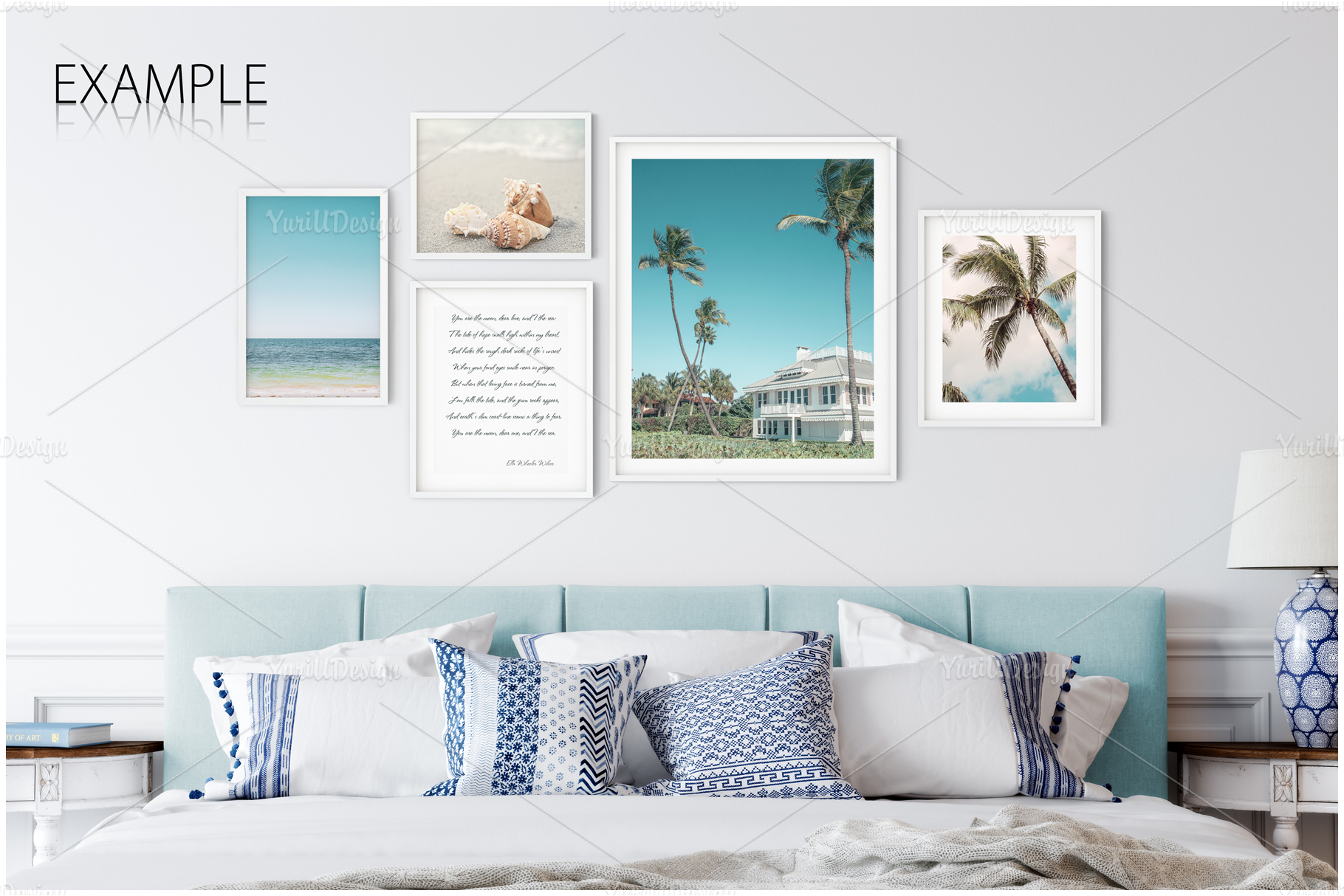 Frames & Walls Coastal Mockups Bundle example image 24