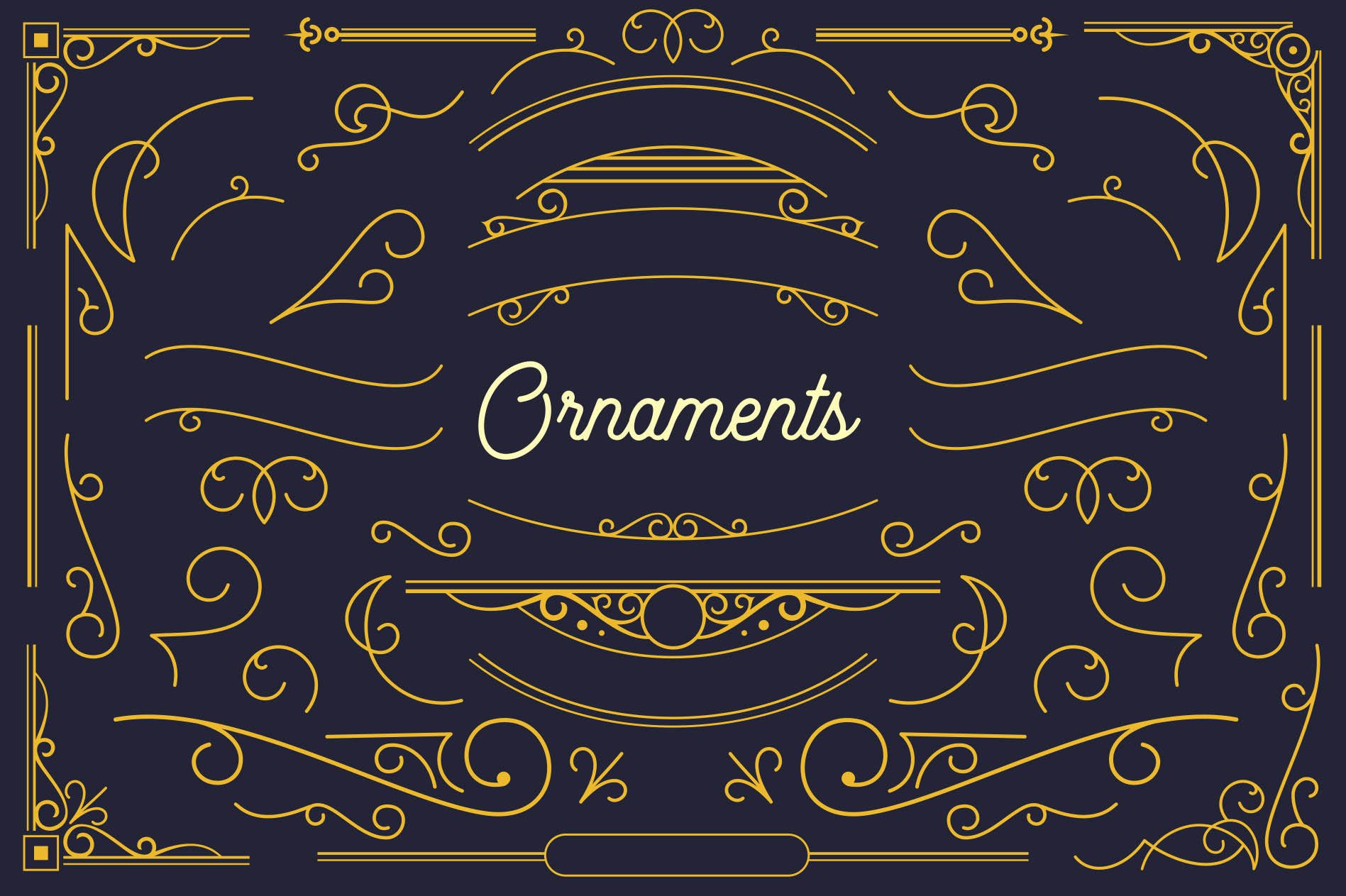 Beauty Script & Ornaments example image 5