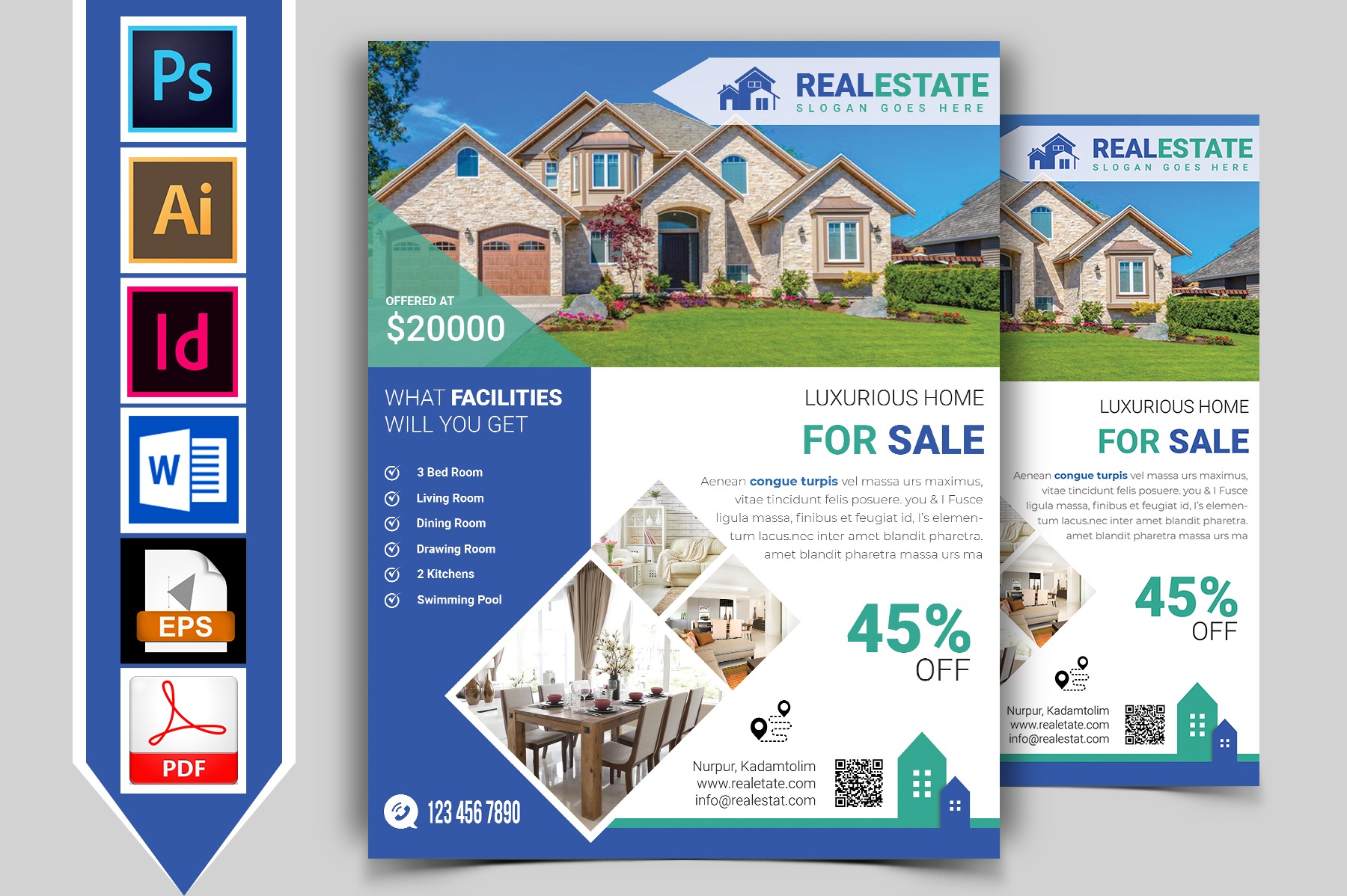 Real Estate Flyer Vol-03 example image 1