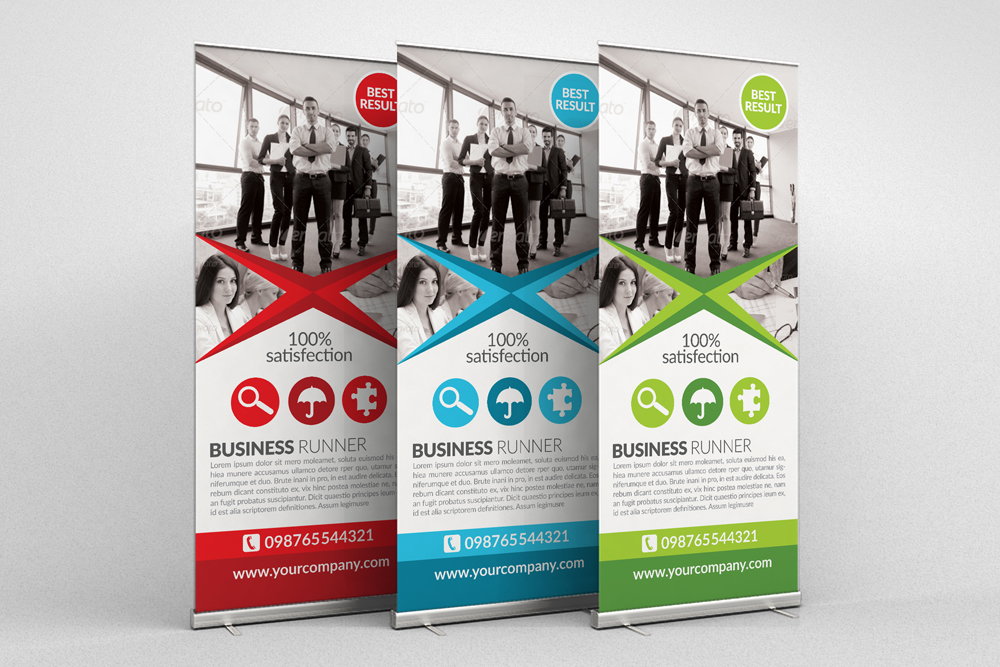 Business Roll Up Banners example image 3