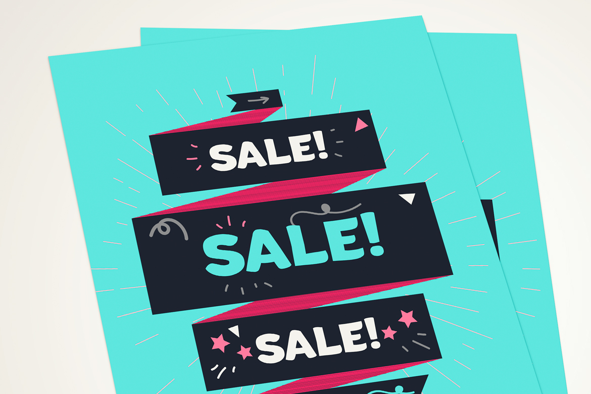 Vector Sale Ribbon example image 3