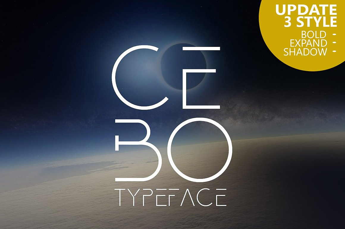 Cebo Typeface example image 1