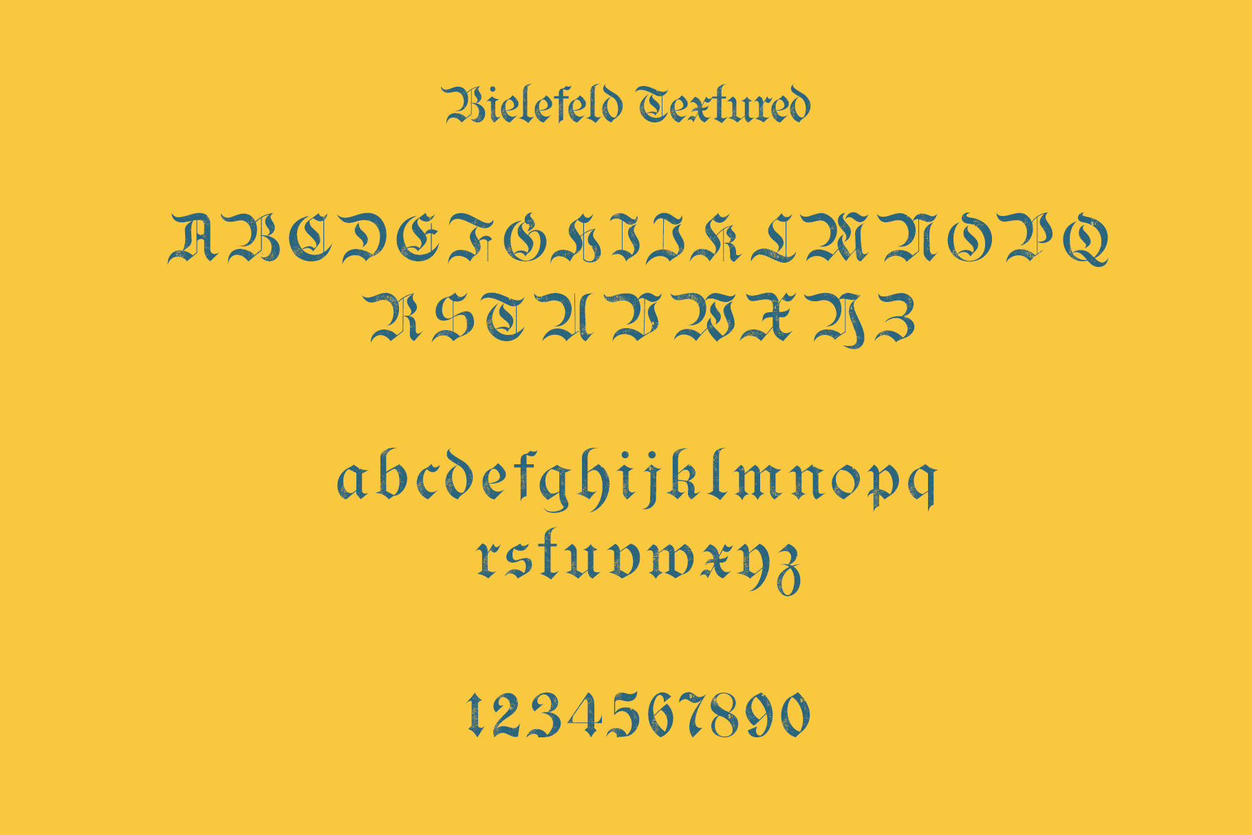 Bielefeld Typeface font example image 8