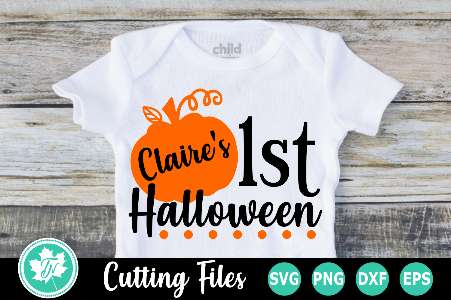 1st Halloween - A Halloween SVG Cut File example image 1