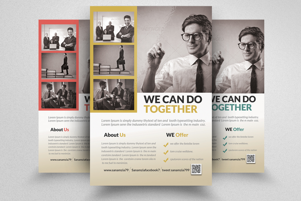 6 Creative Business Flyers Bundle example image 7