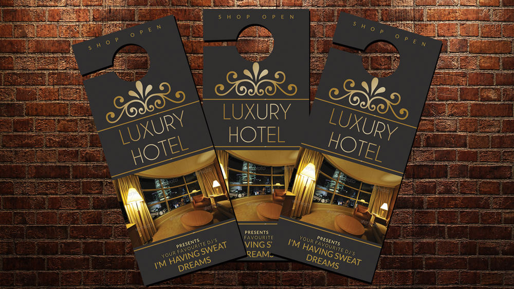 Hotel Room Door Hangers example image 2