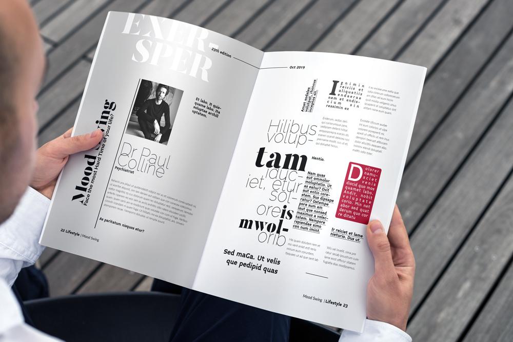 Fashion Magazine Layout Template example image 29