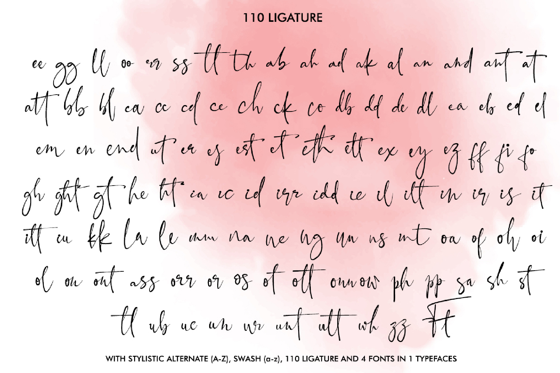 Black Pink Signature example image 8