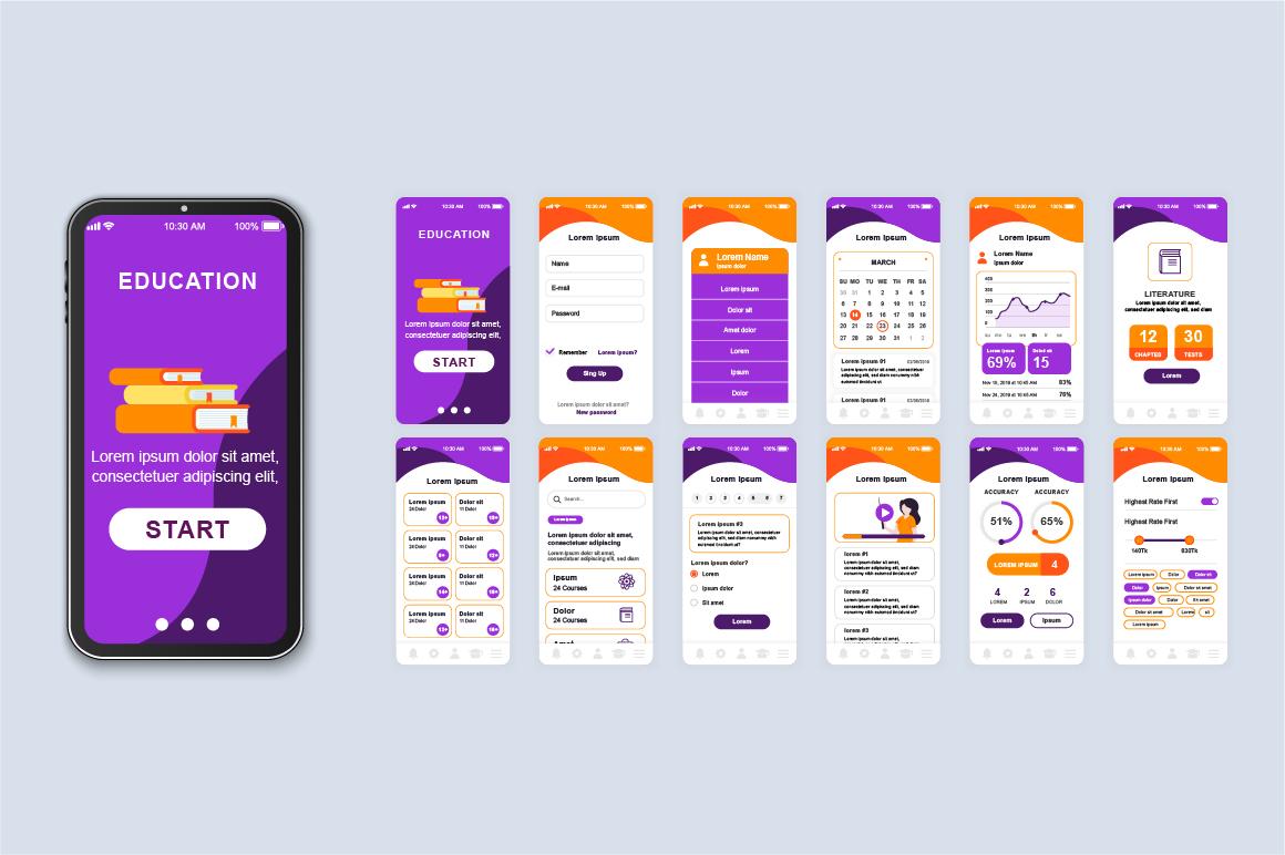 Bundle Mobile App UI Kit Screens example image 8