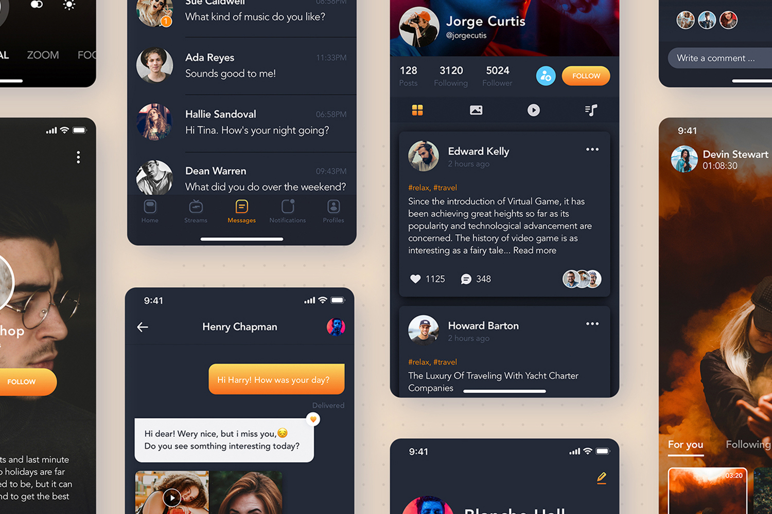 Social App for Live-streaming Video example image 6